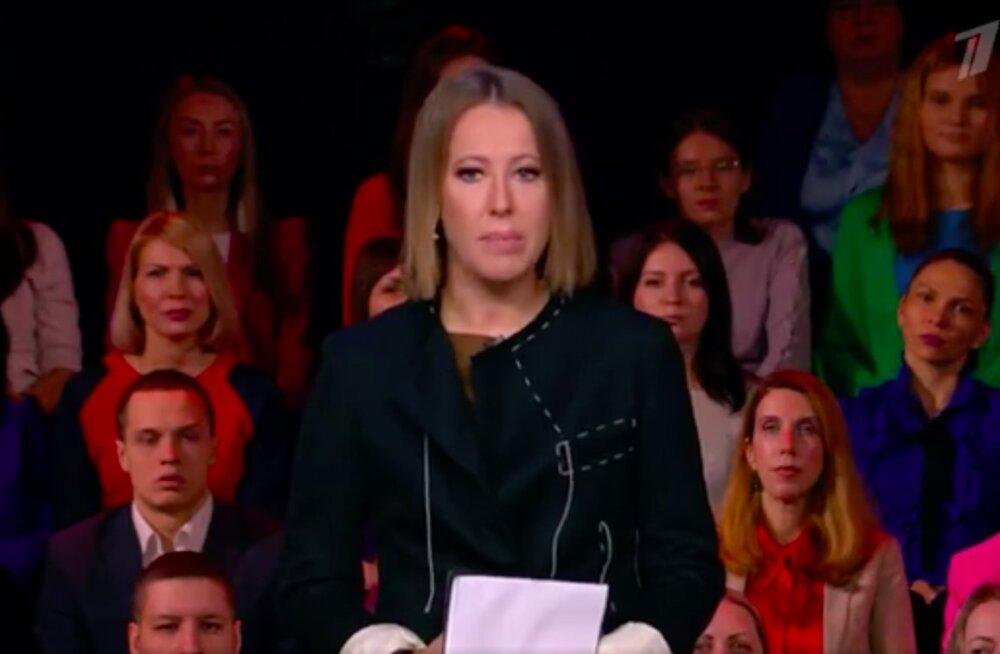 На Первом канале вышло ток-шоу с Ксенией Собчак. Дебютный выпуск посвятили сестрам Хачатурян
