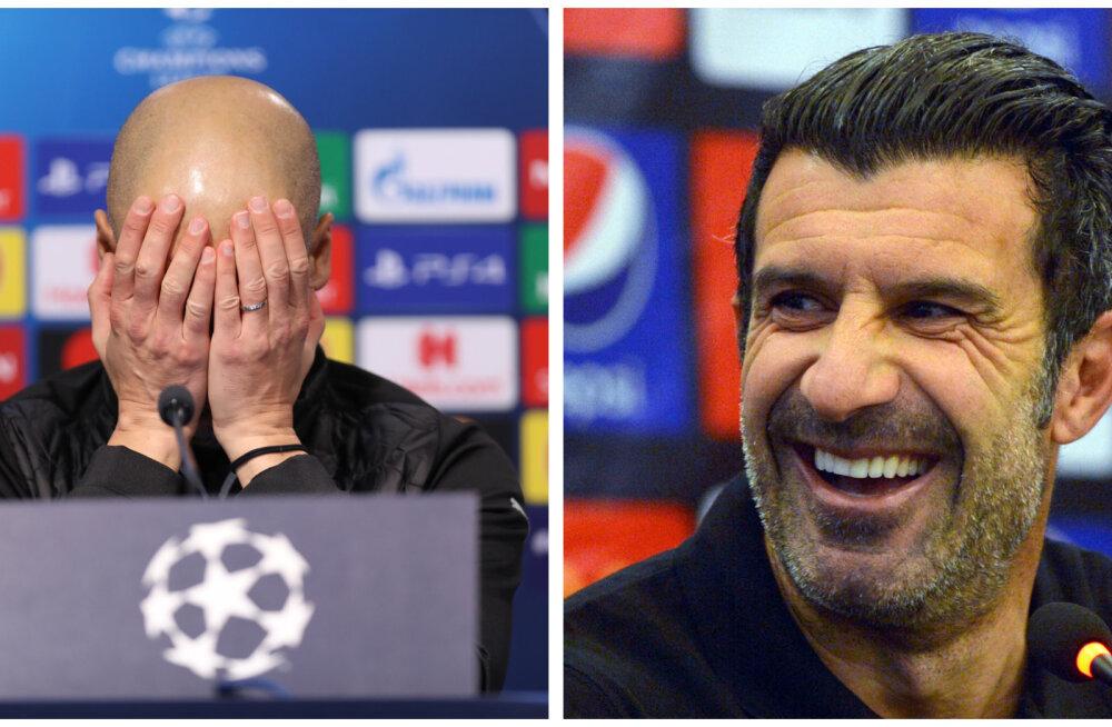 Hispaania ajaleht: Pep Guardiola ja Luis Figo olid mängijakarjääri ajal homosuhtes