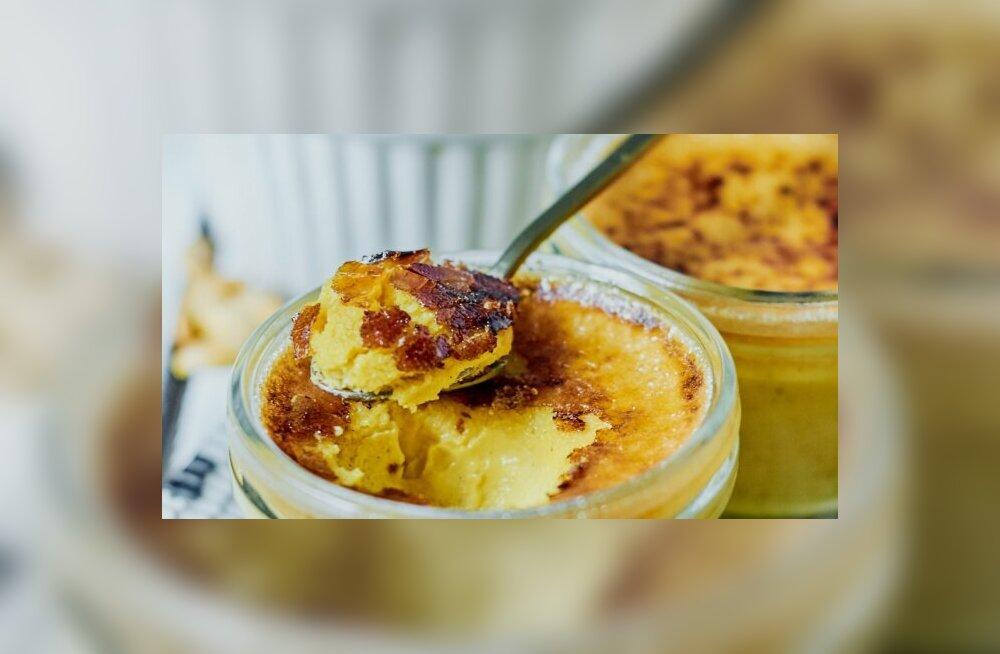 Самый необычный десерт осени 2019: тыквенный creme-brûlée
