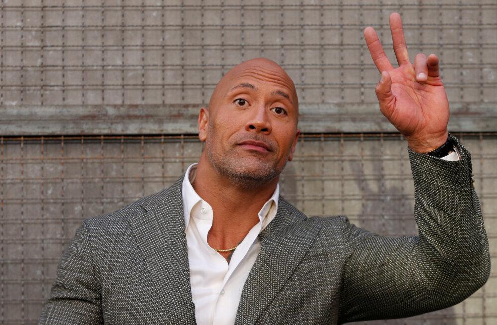 """Dwayne """"The Rock"""" Johnson lajatab lumehelbekestele: te mõjute ühiskonnale taandarenguna"""