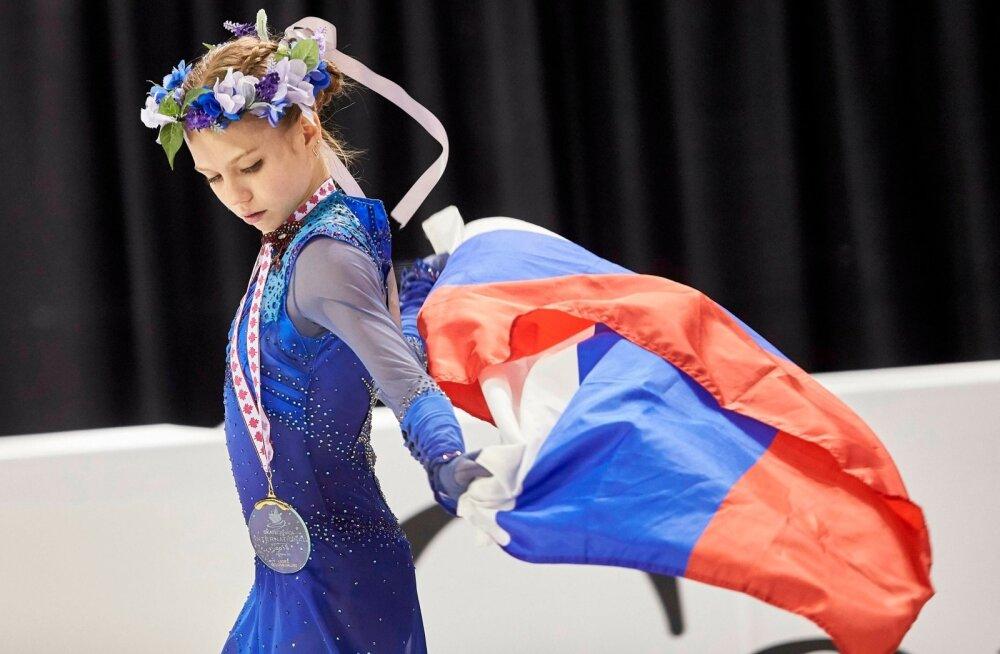 15-aastane Aleksandra Trussova on teiste jaoks praegu püüdmatu.