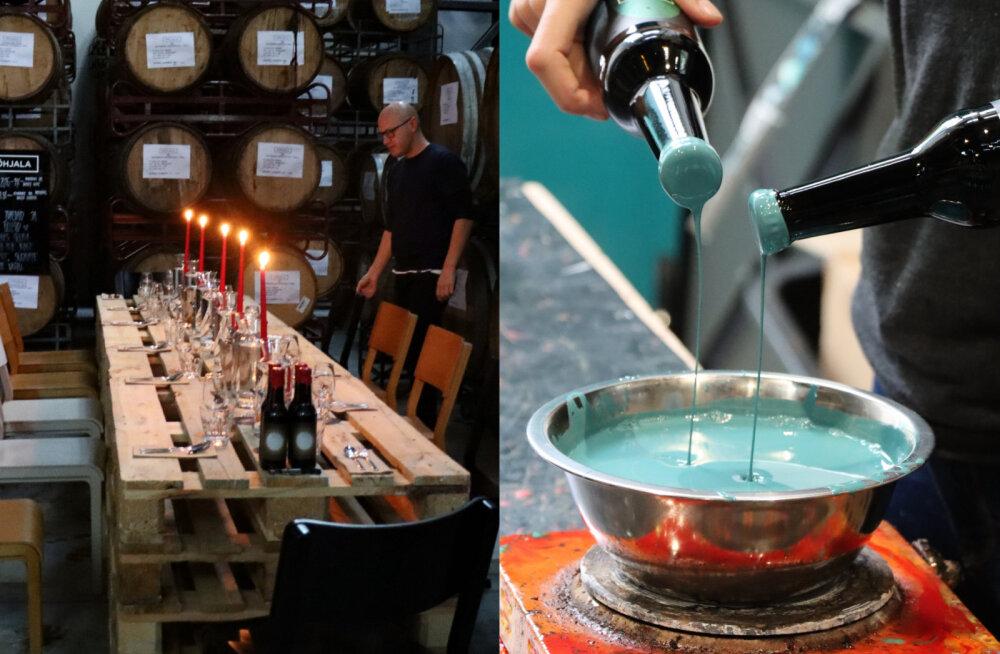 ФОТО | Романтический ужин при свечах на пивоваренном заводе! Põhjala представила интересные новинки
