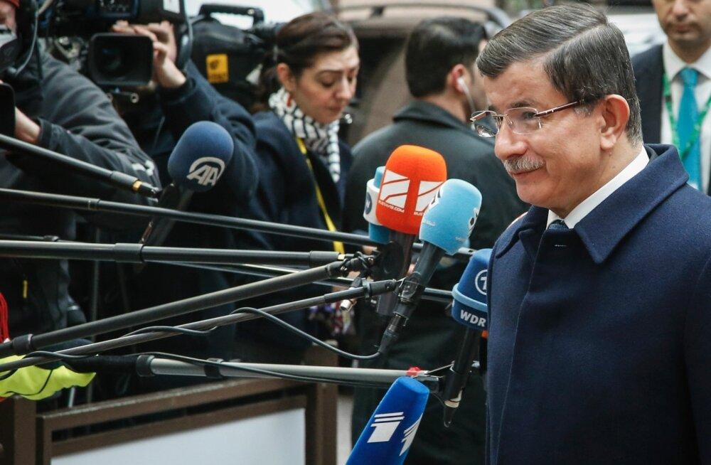 Davutoğlu: Türgi on valmis olema Euroopa Liidu liige