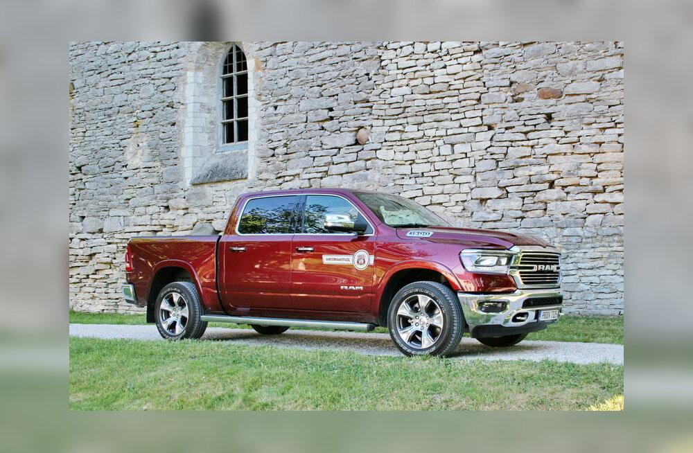 WHATCAR? TESTIB | Klaari silmavaatega uus Dodge Ram
