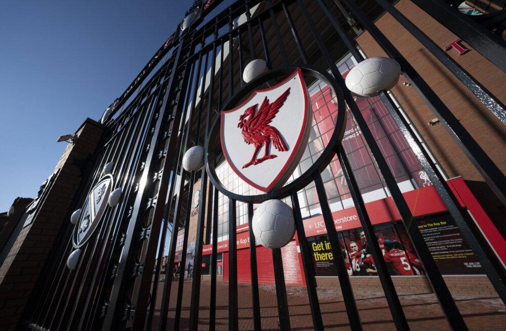 Liverpooli kodustaadion Anfield