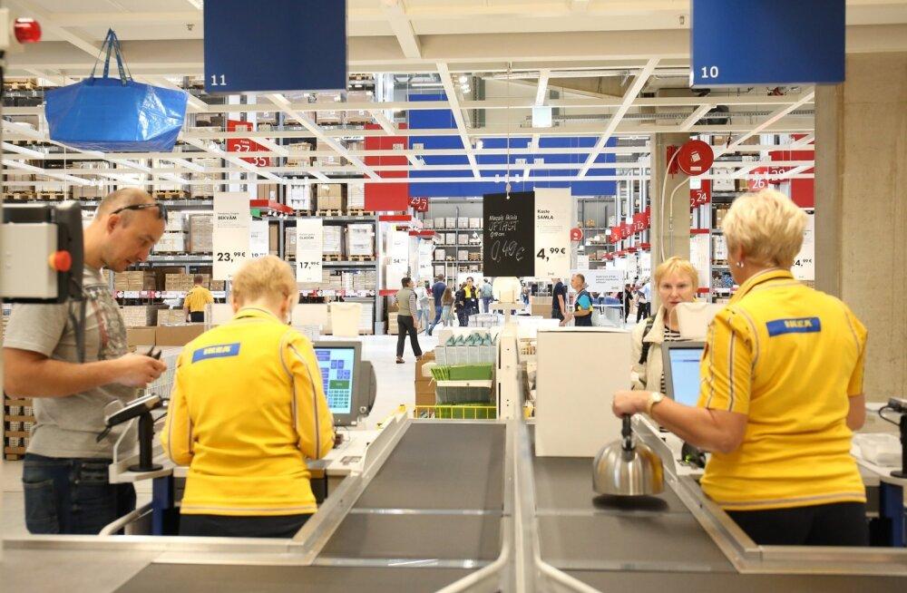 Ikea avamine Riias