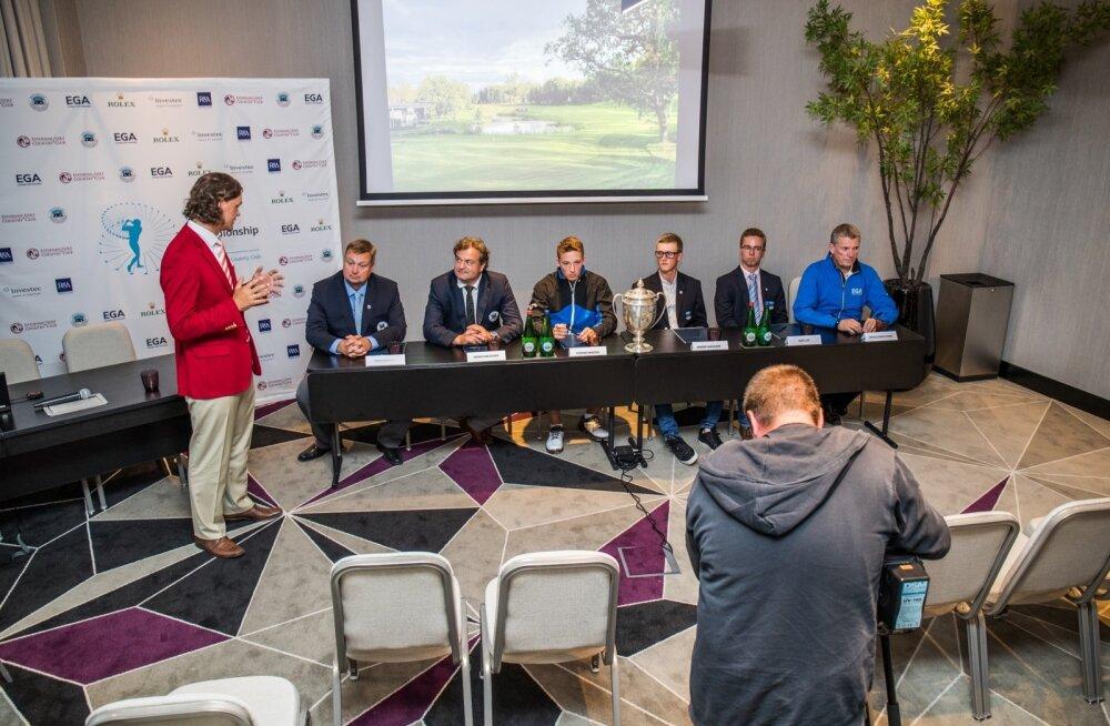 Amatöörgolfi Euroopa meistrivõistluste pressikonverents