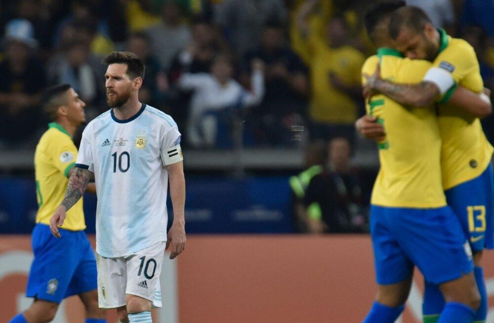 VIDEO | Brasiilia lülitas Argentina konkurentsist ja sammus Copa America finaali