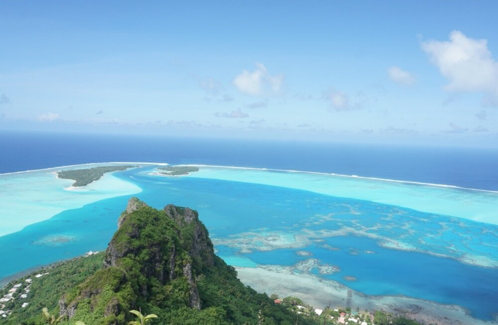 Maupiti saar, Prantsuse Polüneesia
