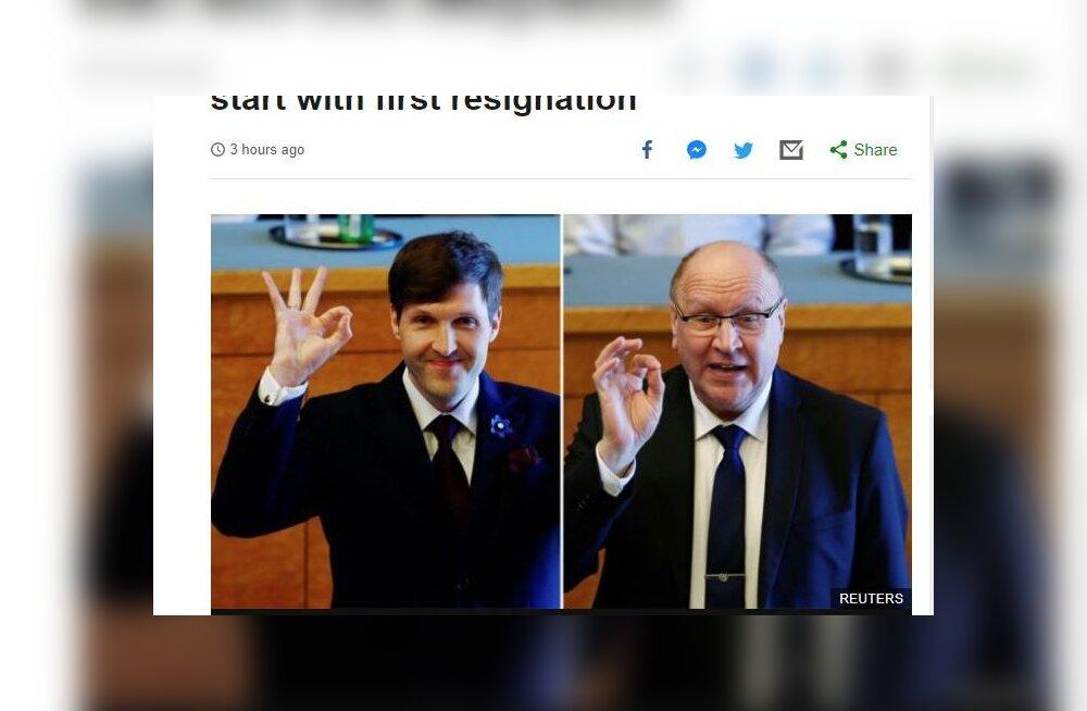 """Helmed ületasid oma """"hea tuju märgiga"""" uudisekünnise BBC-s ja New York Timesis, mõlemad seovad sümboli Uus-Meremaa massimõrvariga"""