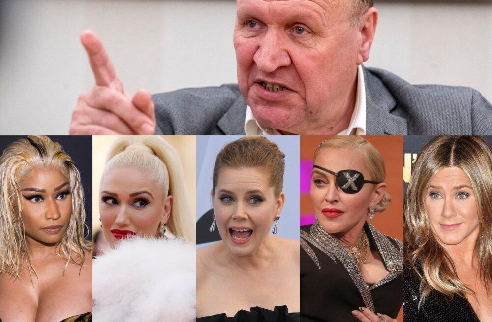 LÕBUS NIMEKIRI | Müüjatüdrukud, stripparid ja pagaripoisid ehk mida küll maailmakuulsused Mart Helmele vastaks?