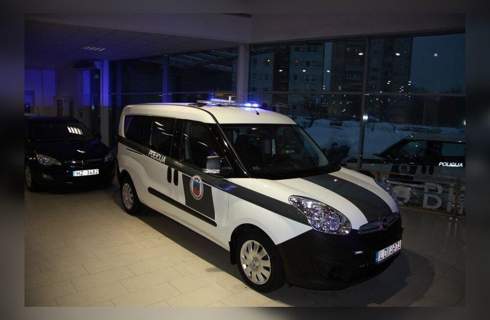 Läti politsei võtab kasutusele Opel Combo sõidukid