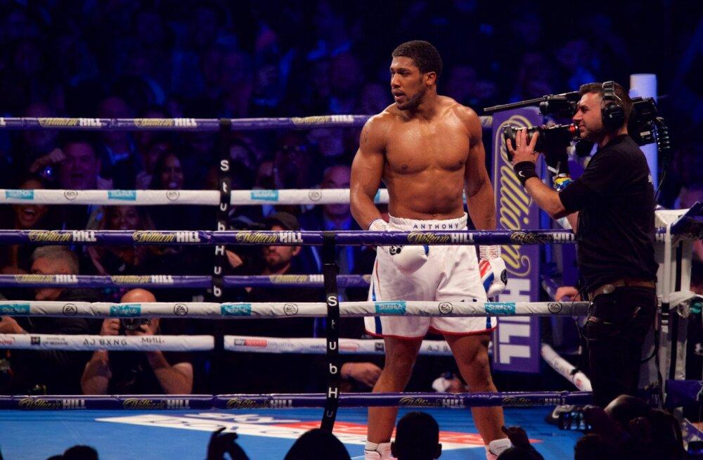 Anthony Joshua avaldas lootust Tyson Fury vastu poksida