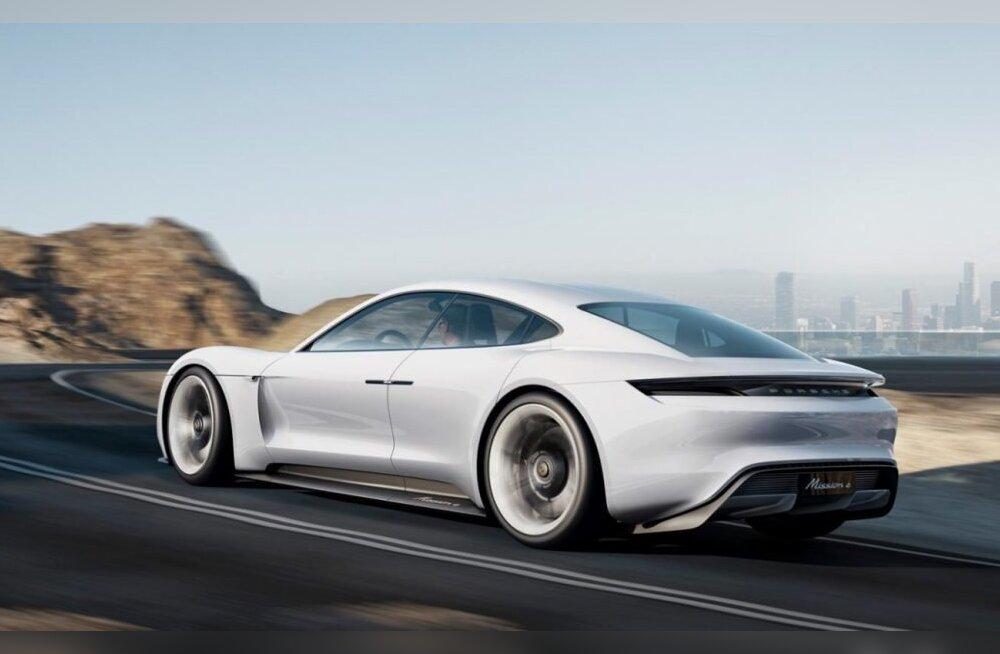 Taycan veab Porsche plussi: Eestiski on eelbroneerimine hoogsalt käima läinud