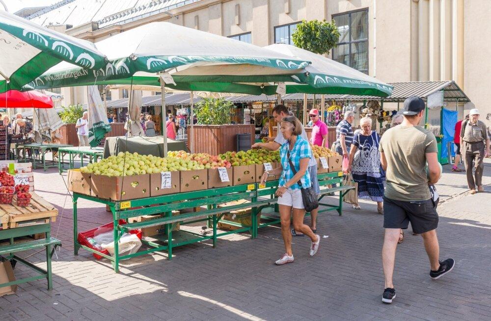 Õunte kilohind algab ühest eurost.