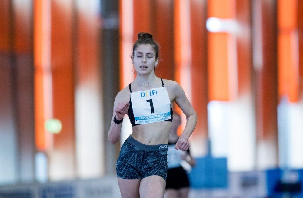Eesti kergejõustiku meistrivõistlused Lasnamäe spordihallis