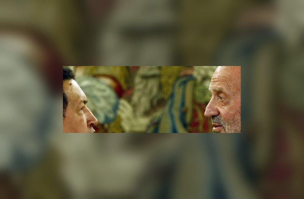FOTOD: Chávez tunnistas Hispaania kuningale, et too sarnaneb Castroga