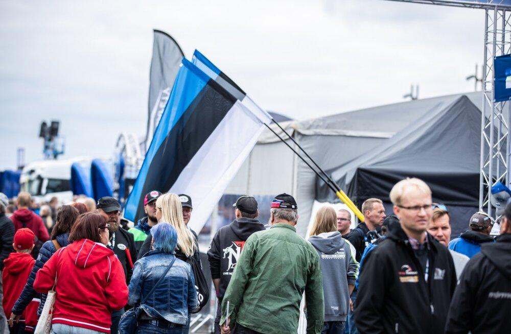 Eesti fännid soome rallil