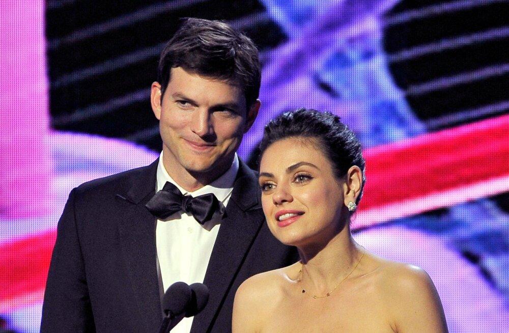 Oi kui pahasti! Ashton Kutcher tegi Mila Kunisele kogemata vale kingi