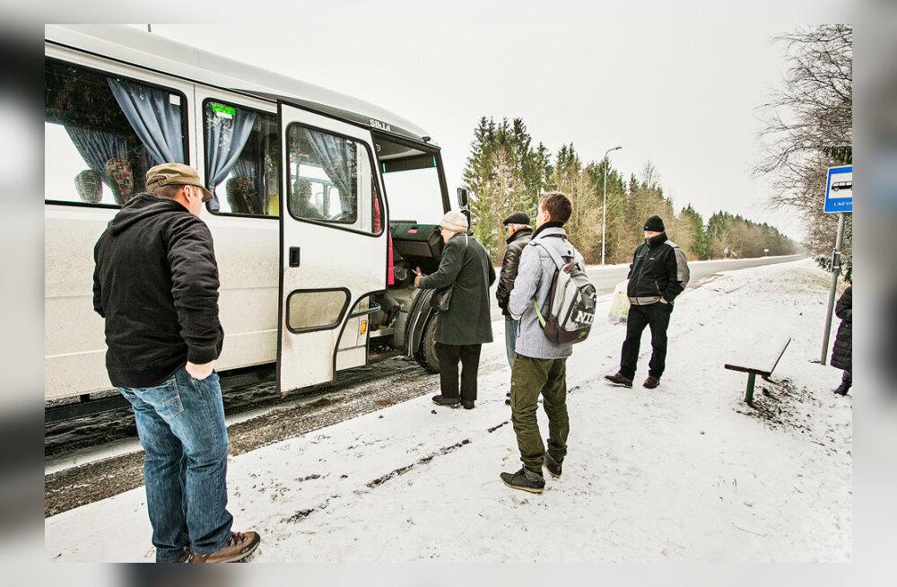Tasuta bussitransport maksab 13 miljonit aastas