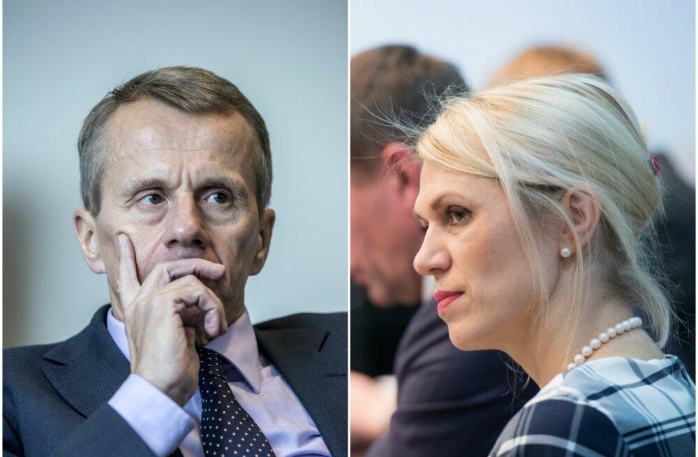 """Urve Palo: eriarvamuste puhul naistega Jürgen Ligi ei kontrolli end ning läheb inetuks. Mulle ütles """"ega sa köögis ei ole!"""""""
