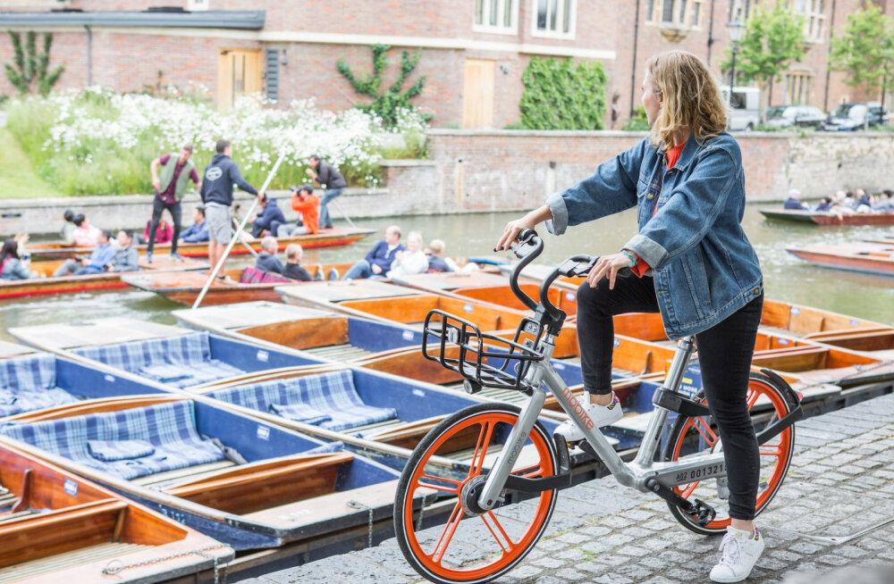 Eesti mobiilimaksefirma alustas koostööd maailma suurima rattarentijaga