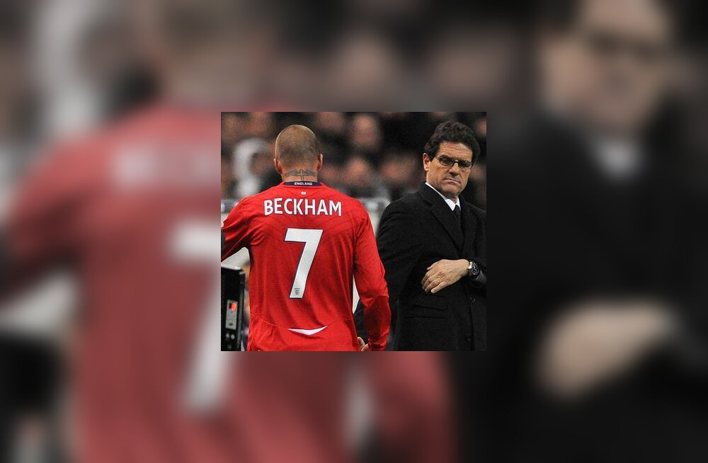 Fabio Capello ja David Beckham