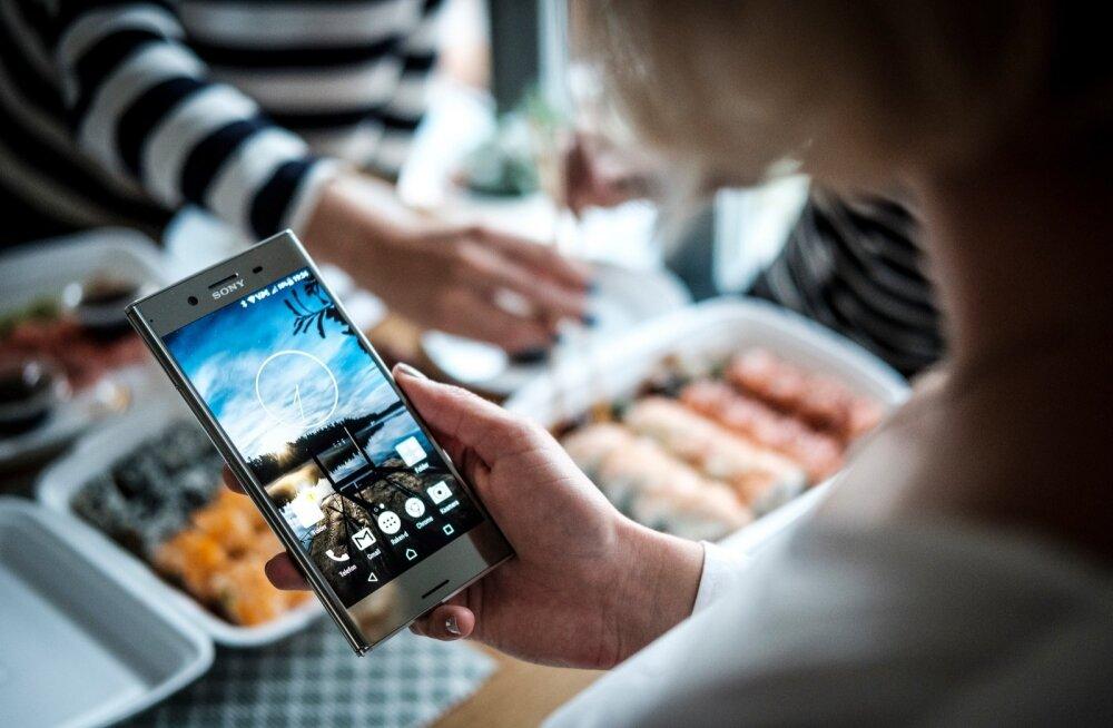 Sony Xperia XZ Premiumi välimus on kalli telefoni vääriline.