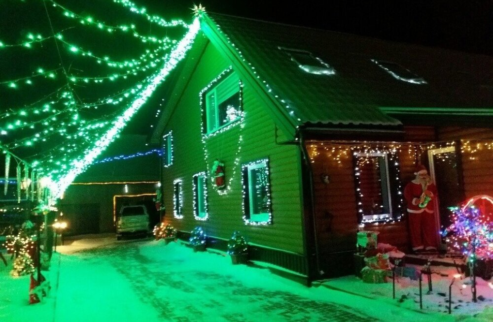 ФОТО. От крошечной елочки до парка огней: Рождественская сказка в маленьком литовском городе