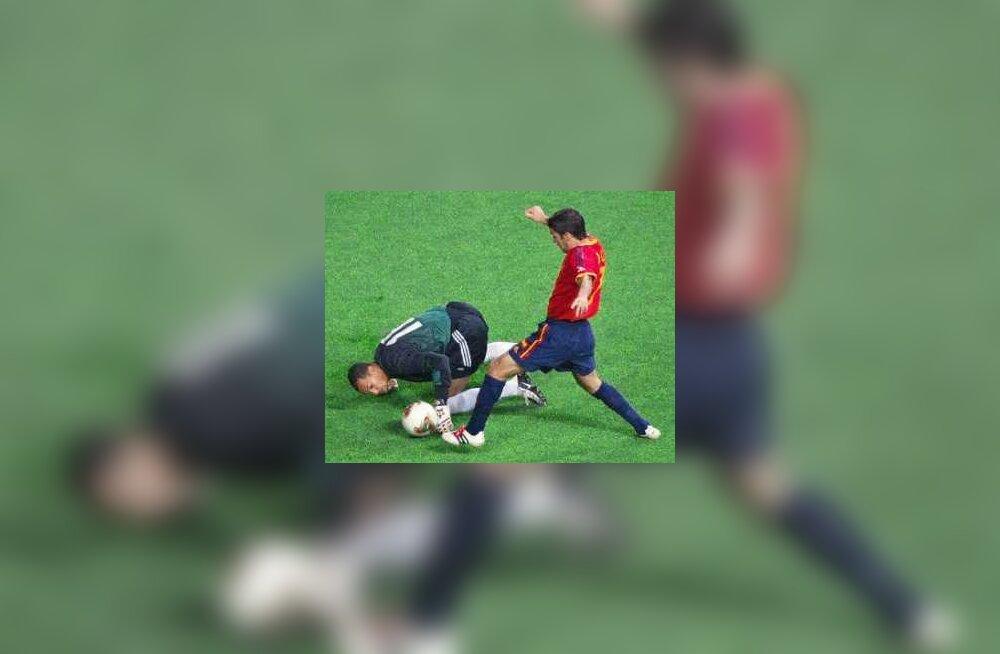 hispaania jalgpall
