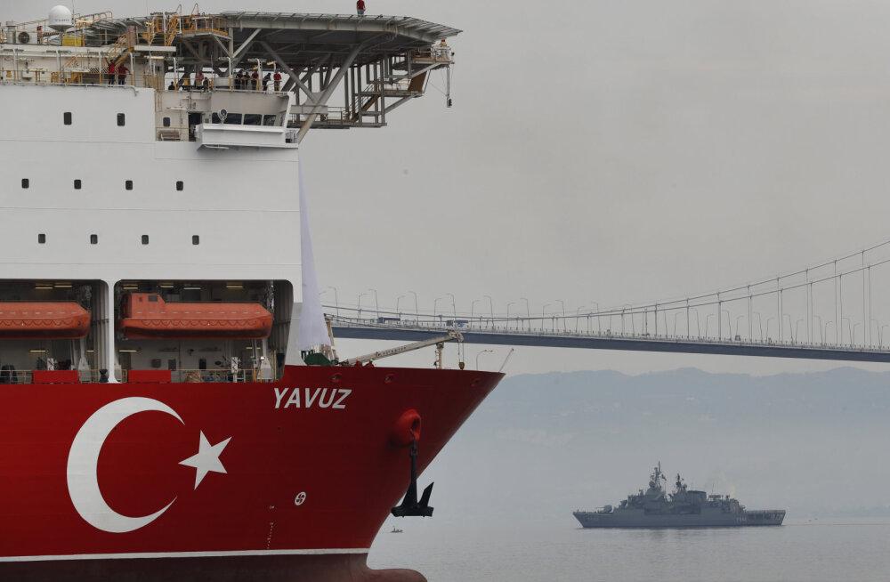 Türgi alustab Euroopa proteste eirates maagaasi puurimisega Küprose majandusvetes