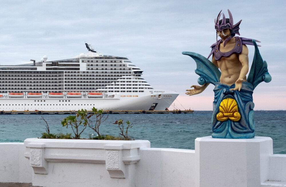 ВИДЕО   На круизном лайнере из-за коронавируса произошла массовая драка