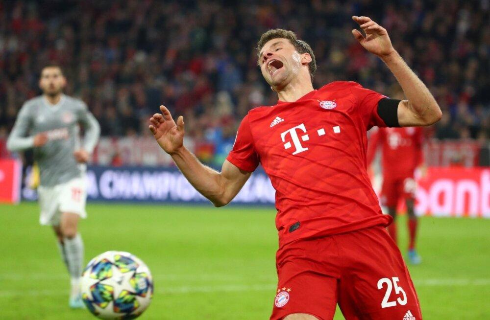 Bayern vs Olympiacos