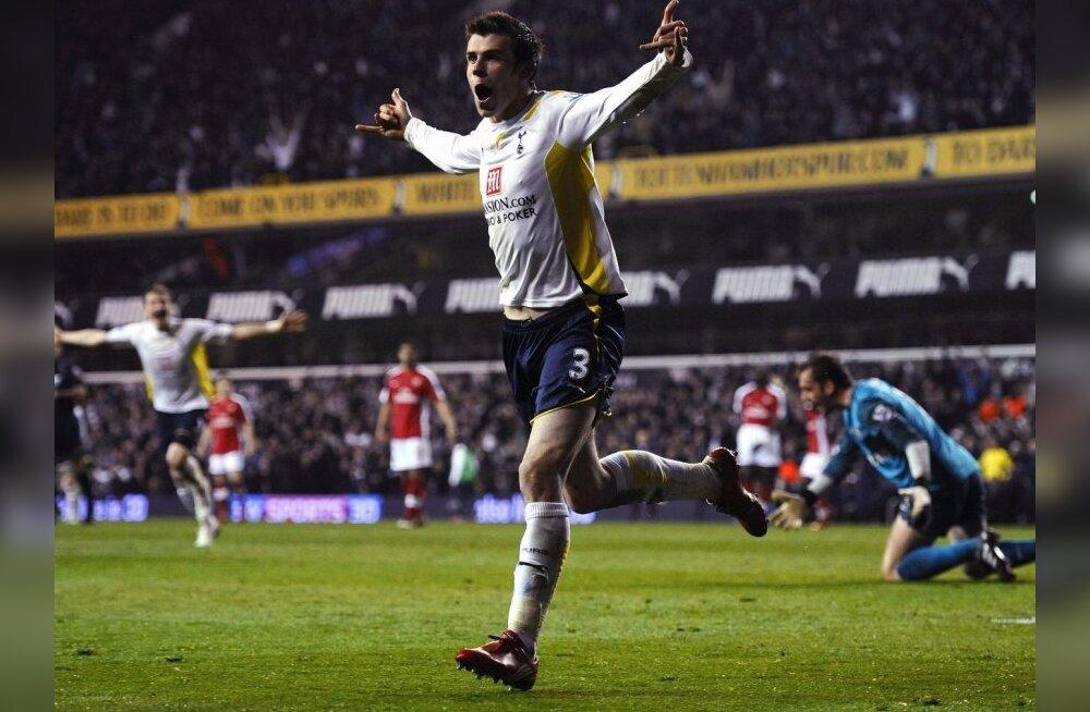 Inglismaa aasta jalgpallur on Gareth Bale