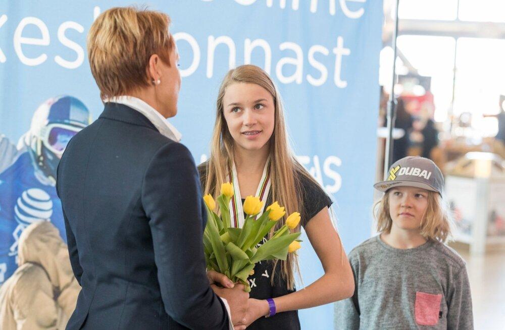 Kahekordne juunioride maailmameister Kelly Sildaru