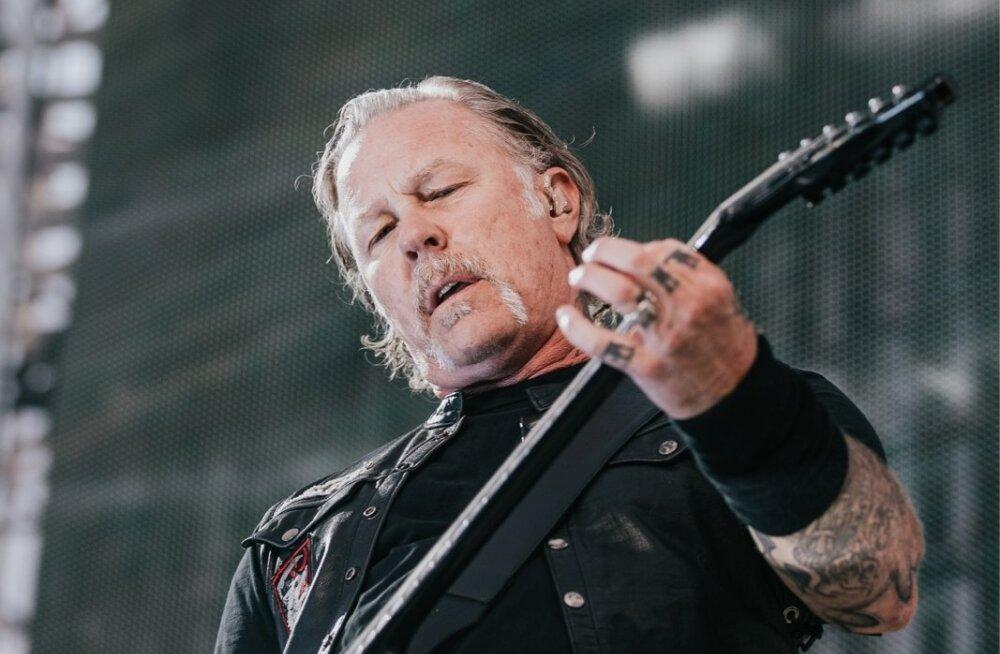 Metallica kontsert Tartus
