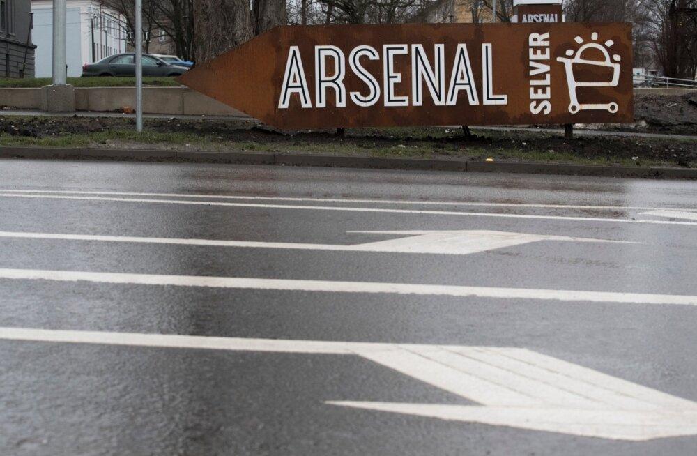 Raimond Kaljulaid. Arsenali keskus