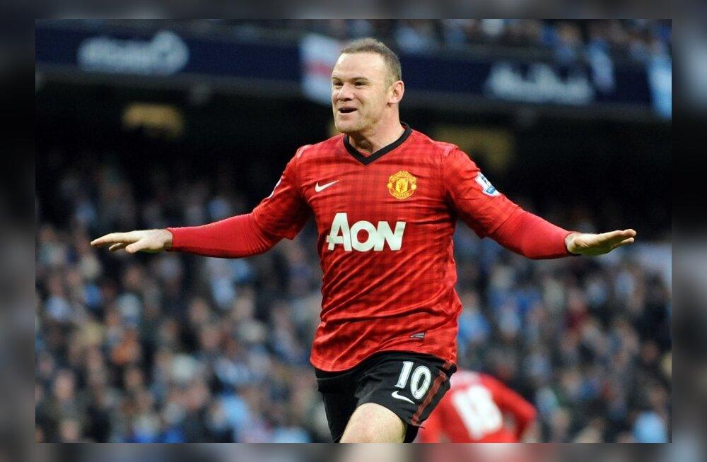 Wayne Rooney purustas Thierry Henry rekordi