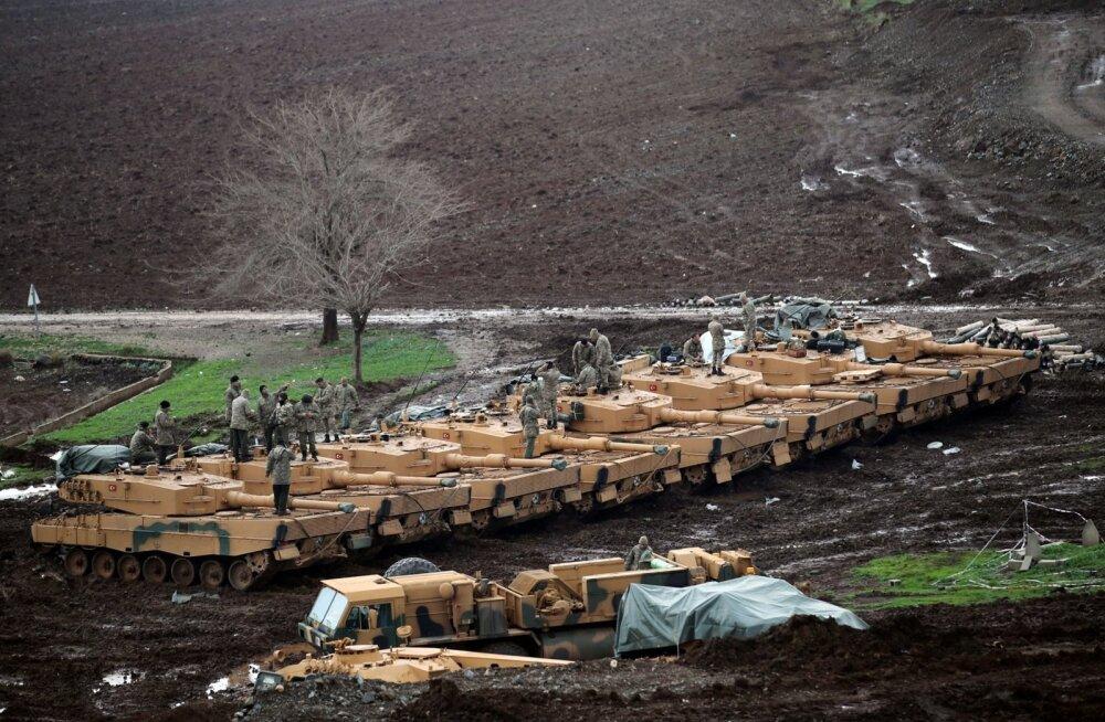 Türgi ja kurdid tümitavad teineteist Süürias Saksa relvadega, esile on tulnud tanki Leopard 2 nõrkused