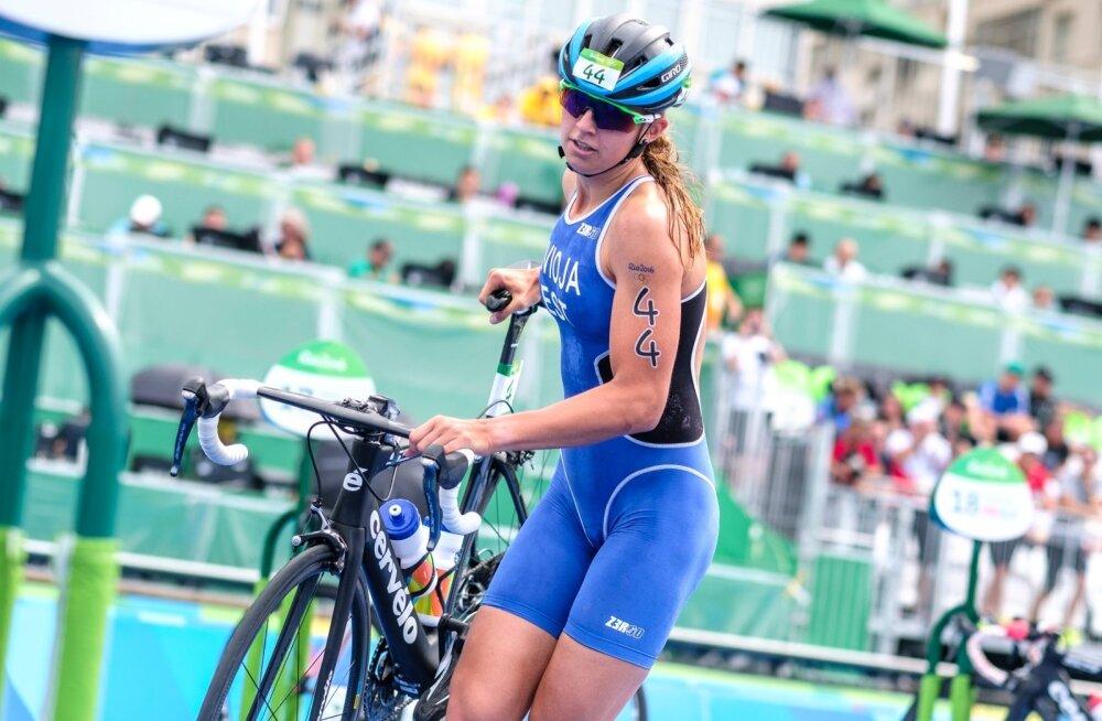 Rio olümpia naiste triatlon, Kaidi Kivioja