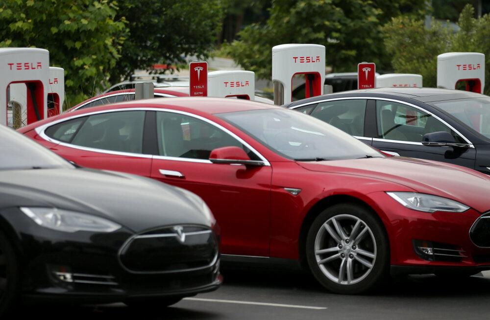 Tesla elektriauto tapja ei pruugi olla teise autotootja auto