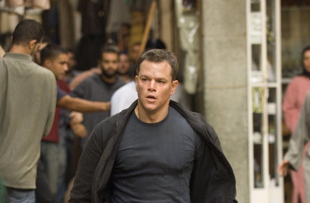 Bourne'i märulimaraton saab hoo sisse filmikanalis TV1000 Premium