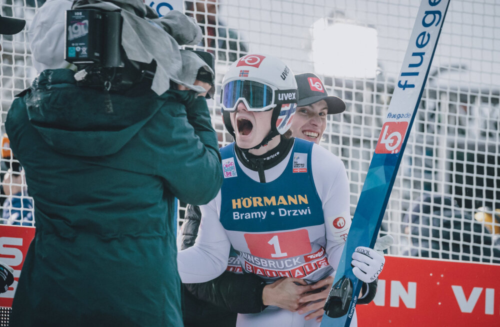 Nelja hüppemäe turnee: Norra suusahüppaja edestas taas konkurente
