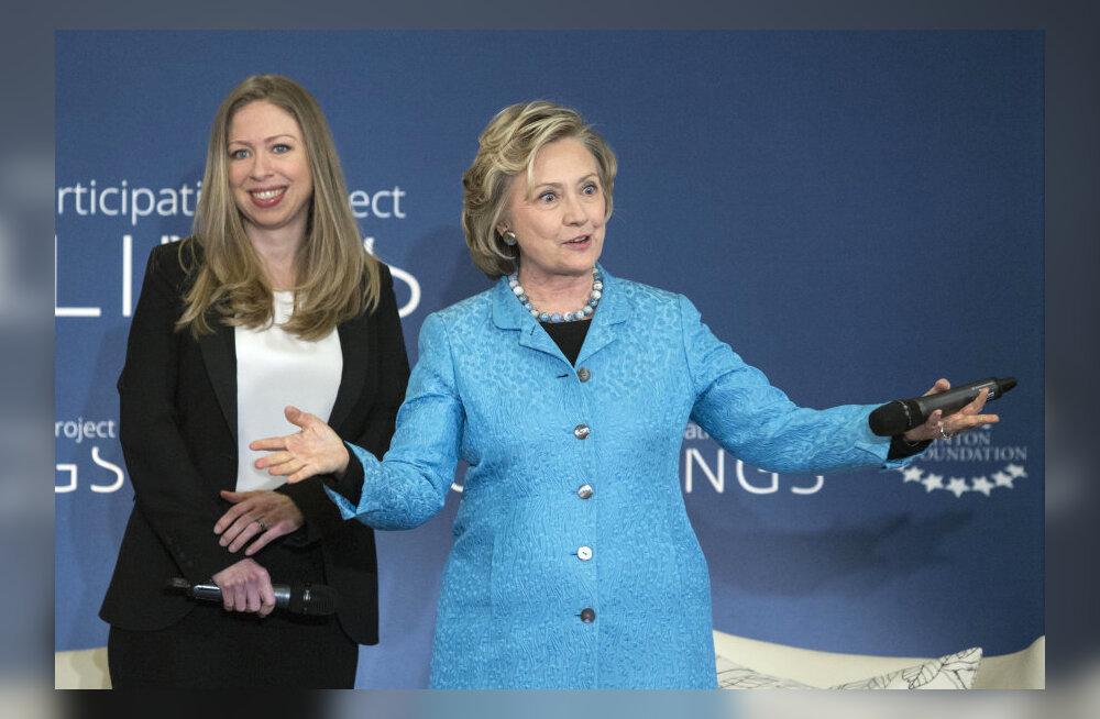 Bill ja Hillary Clinton saavad vanavanemateks! Tütar teatas naistefoorumil rasedusest!