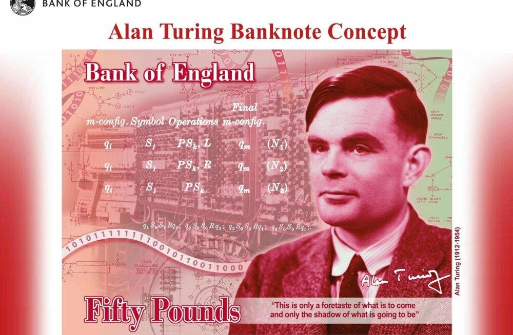 Alan Turing 50-naelasel