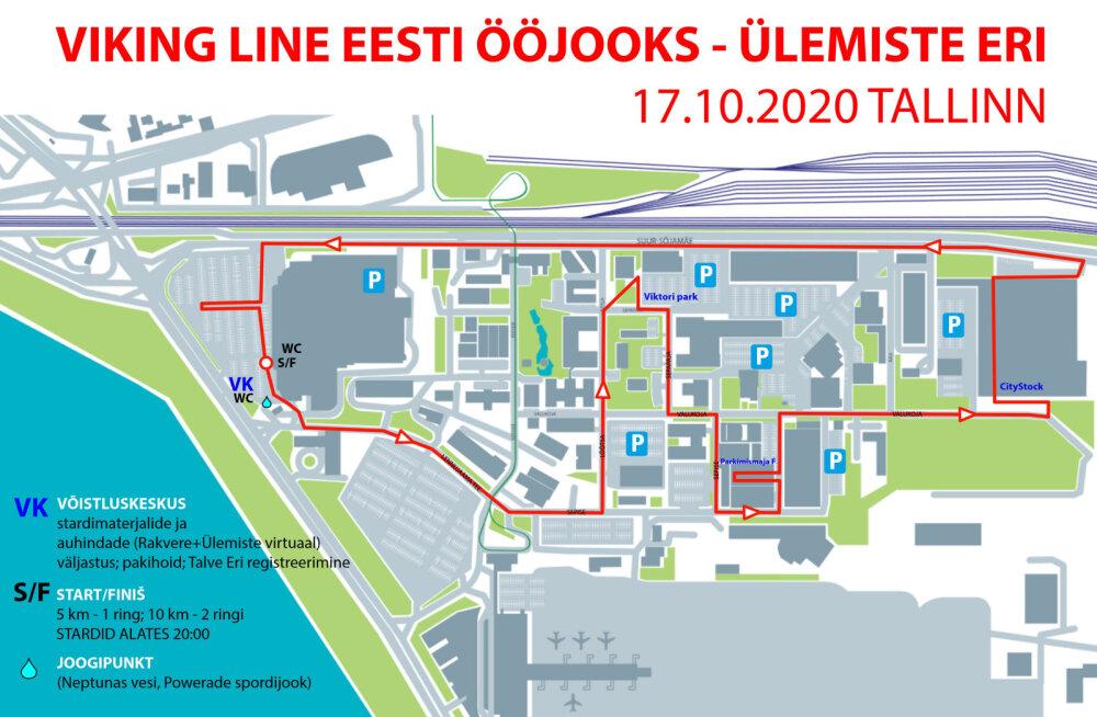 Eesti Ööjooksu kaart
