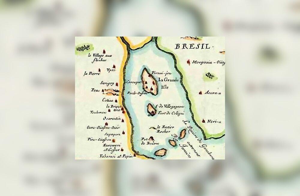Täna ajaloos: kuidas prantslased Brasiilias kolooniat püüdsid rajada
