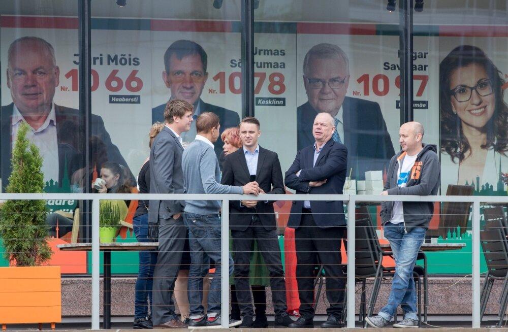 ФОТО: Предвыборный штаб Союза Сависаара и Делового Таллинна ждет посетителей