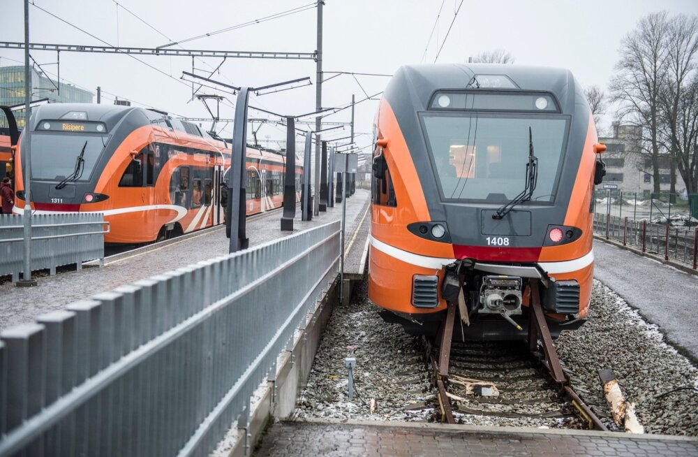 Elroni rongiga saab nüüd otse Pärnusse.