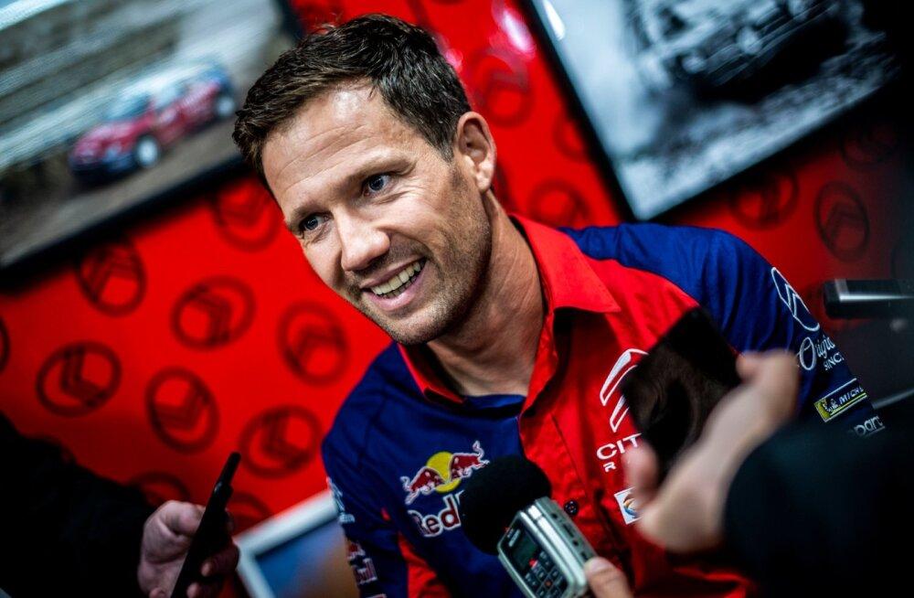 Kuuekordne maailmameister Sebastien Ogier.